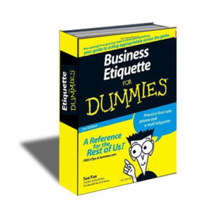 book_BusinessEtiquetteForDummies